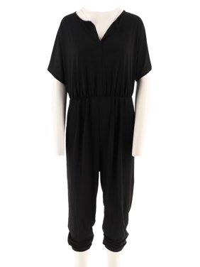 Lisa Rinna Collection Dolman Slv Knit Jumpsuit A292275