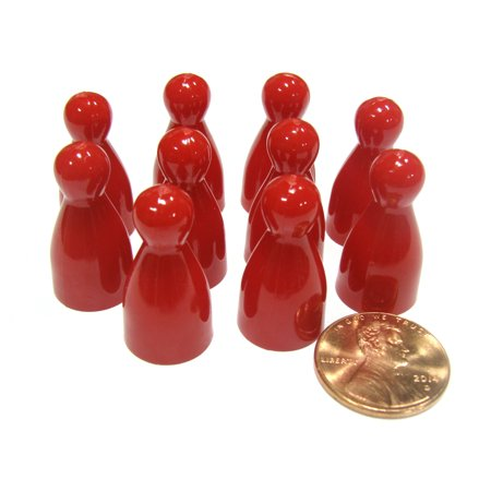 Koplow Games Set of 10 Halma 25mm Pawns Pawn Peg Pegs Board Game Play Pieces - Red #04237](Peg Game Rules)