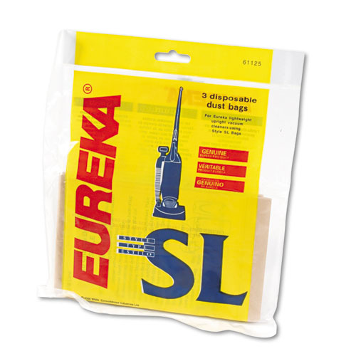 Eureka 61125 Disposable Type SL Upright Vacuum Cleaner Bag, For Use With Sanitaire Series S782 and S