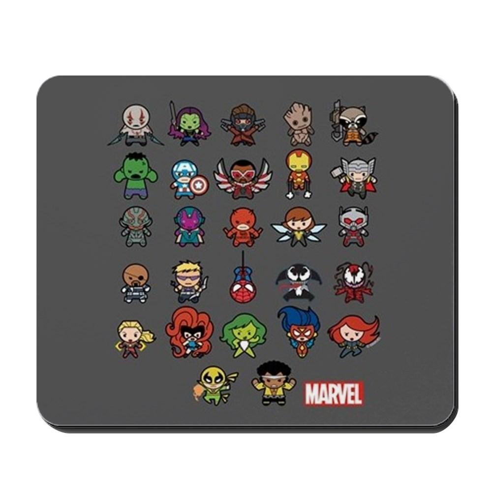 CafePress - Marvel Kawaii Heroes - Non-slip Rubber Mousepad, Gaming Mouse Pad