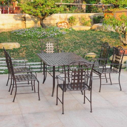 International Caravan Mandalay 7 Piece Dining Set