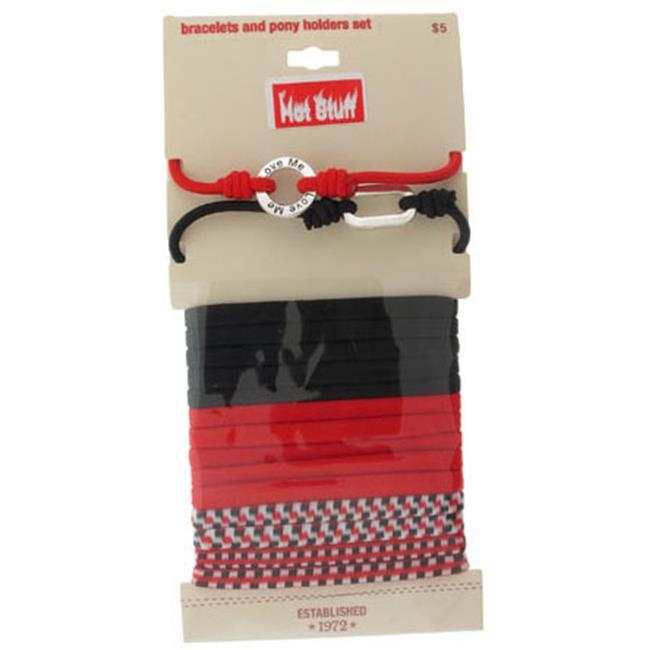 Bulk Buys Hot Stuff Department Store Bracelet & Ponytail Holder Sets - Case of 120