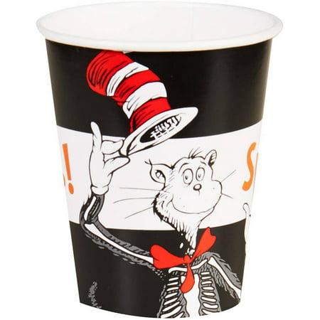 Dr. Seuss Halloween 9oz Paper Cups, 8pk - Dr Seuss Halloween Decorations