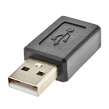 USB A Male to Micro USB Female Converter Adapter