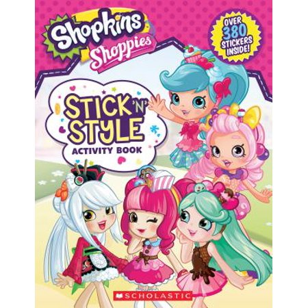 Stick 'n' Style Activity Book (Shopkins: (N Carry Activity)
