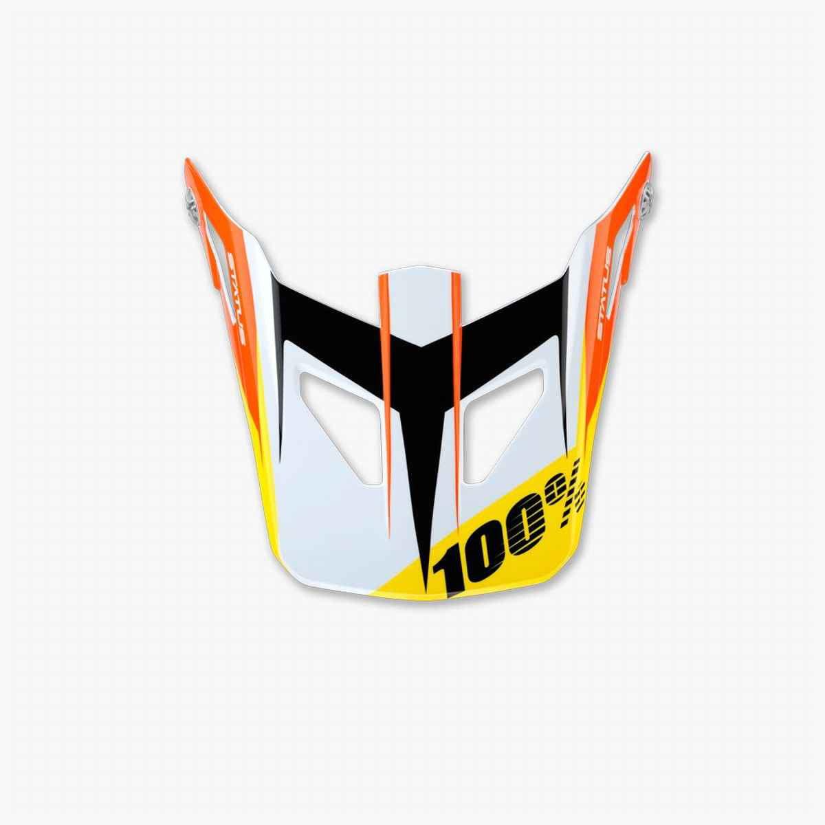 100% percent status jr replacement visor meteor - 81013
