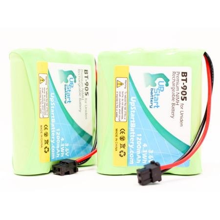 2X Pack   Radioshack 23 193 Battery   Replacement For Radioshack Cordless Phone Battery  1200Mah  3 6V  Ni Mh
