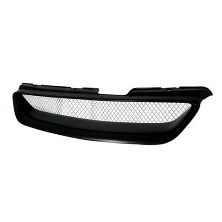 2 Door Front Hood Grille Type R for 98 to 02 Honda Accord, Black - 5 x 18 x 33 in. - image 1 de 1
