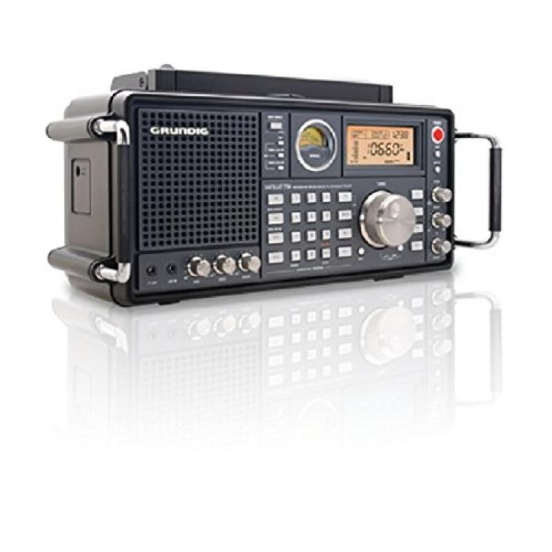 Eton Grundig Satellit 750 Ultimate AM/FM Stereo also Receives Shortwave Longwave and Aircraft Bands - Black (NGSAT750B)