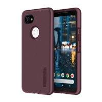 Incipio DualPro - Back cover for cell phone - polycarbonate, Plextonium - merlot - for Google Pixel 2 XL