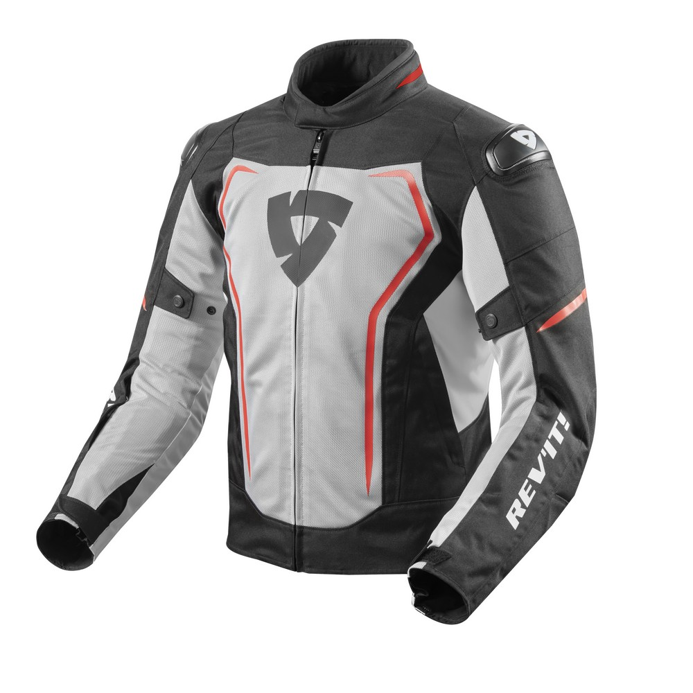 Rev'It Vertex Air Mens Textile Jacket Black/Red