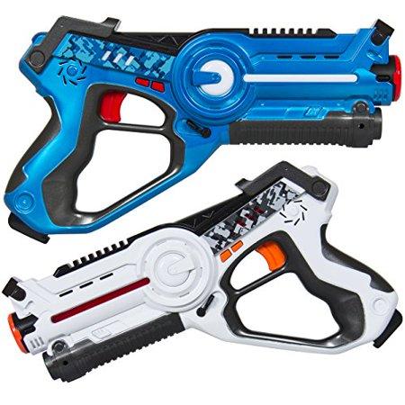 Multiplayer Mode 2 Pack Kids Infrared Laser Tag Gun Multiplayer Mode 2 Pack Kids Infrared Laser Tag Gun
