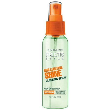 Shine Spray - 2 Pack - Garnier Fructis Style Brilliantine Shine Glossing Spray 3 oz