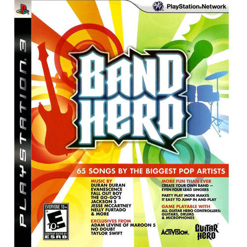 Band Hero (PS3) - Pre-Owned - Game Only