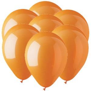 Orange Latex Balloons (Orange 11 inch Latex Balloons (25)