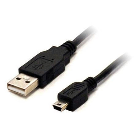 10ft USB to Mini USB A 5-Pin Cable 10' Foot Male to Male by BattleBorn - NEW