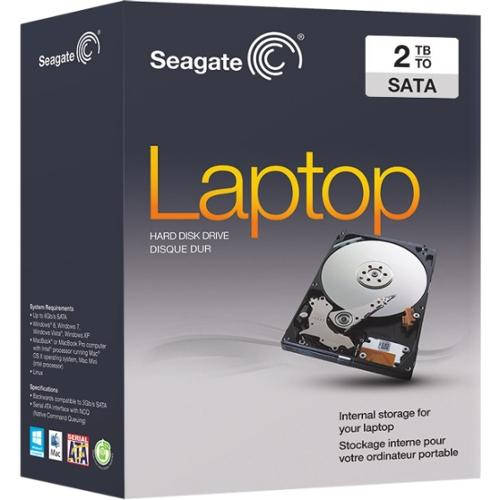 "Seagate STBD2000102 Laptop 2TB 2.5"" SATA Internal Hard Drive"