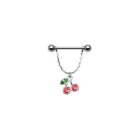 Dangler Cherry Nipple Shield with