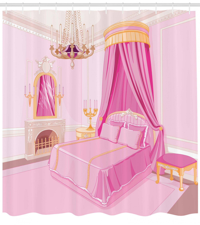 teen girls decor shower curtain set interior of magic