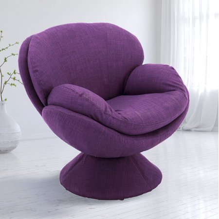 - Comfort Chair by Mac Motion Pub Leisure Accent Chair in Purple Fabric