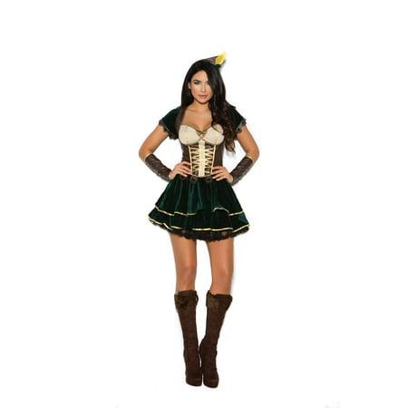 Elegant Moments Womens Archer Hunter Ranger Halloween Roleplay - Elegant Halloween Wedding