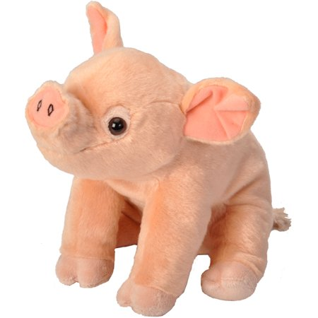 Cuddlekins Pig Baby Plush Stuffed Animal by Wild Republic, Kid Gifts, Farm Animals, 12 Inches - Pig Stuffed Animal
