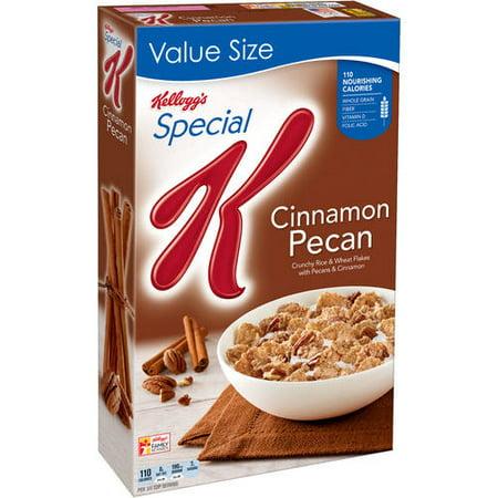 Kellogg's Special K Breakfast Cereal, Cinnamon Pecan, 18.4 Oz