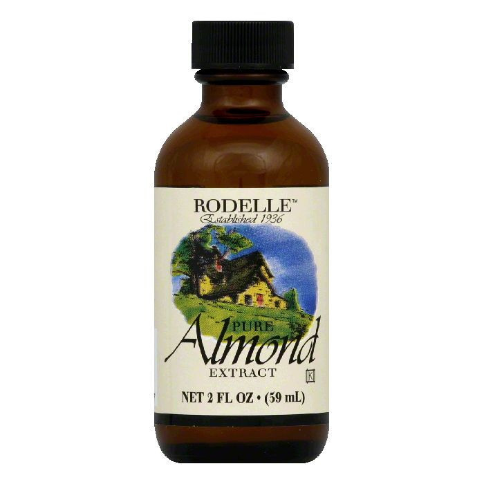 Rodelle Pure Almond Extract, 2 Oz (Pack of 6)