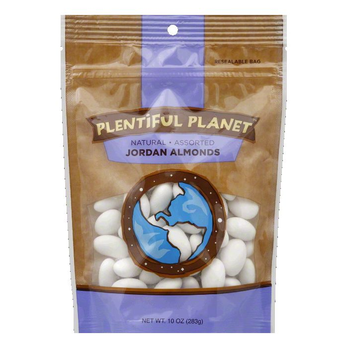 DISCOED Plentiful Planet Assorted Jordan Almonds, 10 Oz (Pack of 6)
