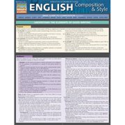 BarCharts 9781423222873 English Composition & Style