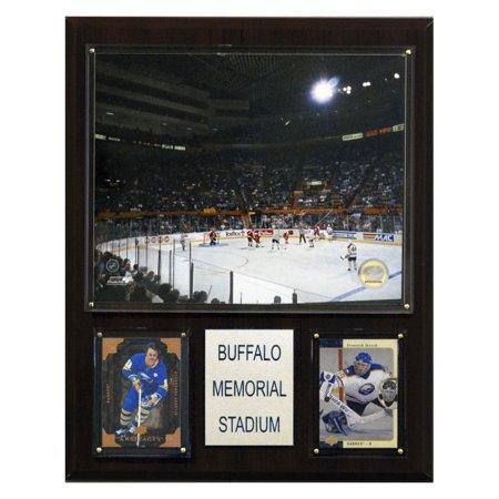 C&I Collectables NHL 12x15 Buffalo Memorial Auditorium Arena Plaque ()