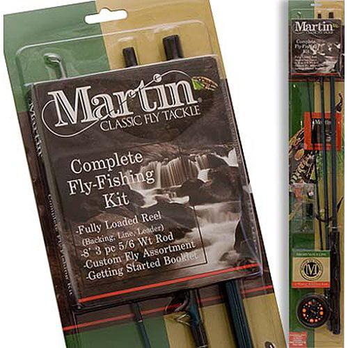 Badlands ZEB-MRT56TK-6L-BP6 Martin Complete Fly Rod Kit
