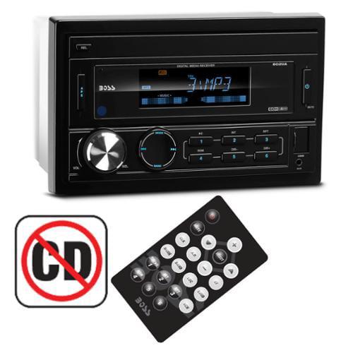 Boss 802UA 2 Din Car In Dash MP3/USB/SD/AUX Digital Receiver Radio Stereo+Remote
