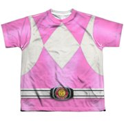 Power Rangers - Zord Power (Front/Back Print) - Youth Short Sleeve Shirt - Small