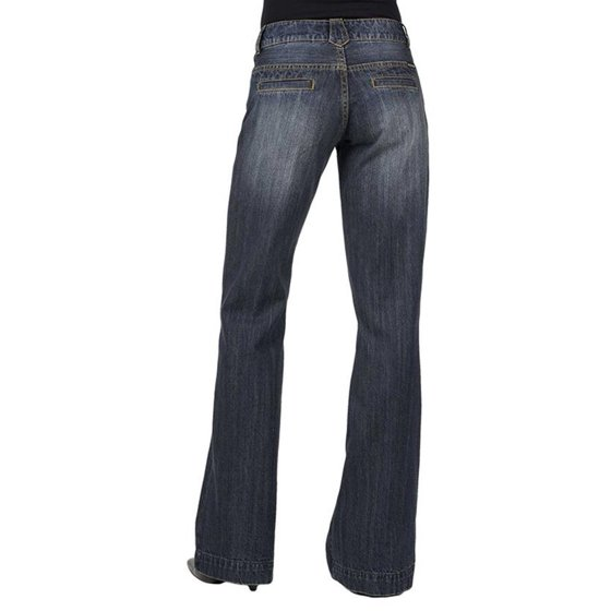 0a01a35966 Stetson - stetson apparel womens relaxed fit trouser jeans - Walmart.com