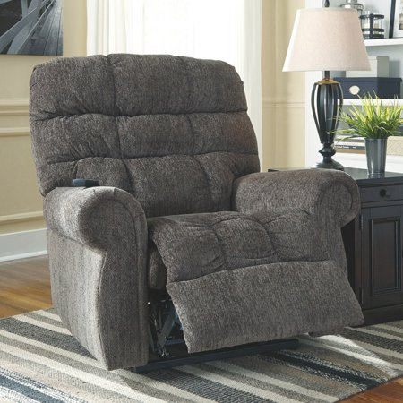 Signature Design by Ashley Ernestine Power Lift Recliner