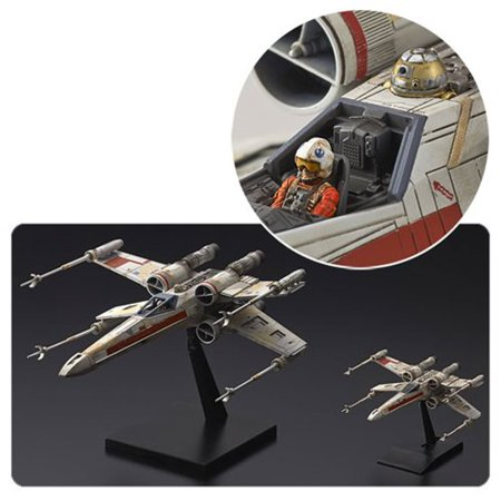 Star Wars Rogue One Red Squadron X-Wing Starfighter 1:72 and 1:144 Scale Model Kit Special Set 1 700 Scale Model Ships