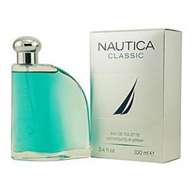 Nautica Classic Eau De Toilette Spray For Men - 3. 4 Oz.