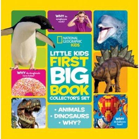 Little Kids First Big Book  First Big Book Of Dinosaurs  First Big Book Of Why  First Big Book Of Animals