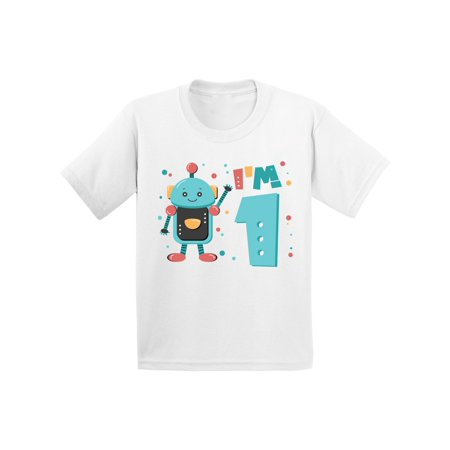 - Awkward Styles 1st Birthday Infant Shirt Robot Birthday Party Robot Shirt Baby First Birthday Baby Bodysuit 1 Year Old Shirt My 1st Birthday Gifts for Birthday Boy Birthday Gifts