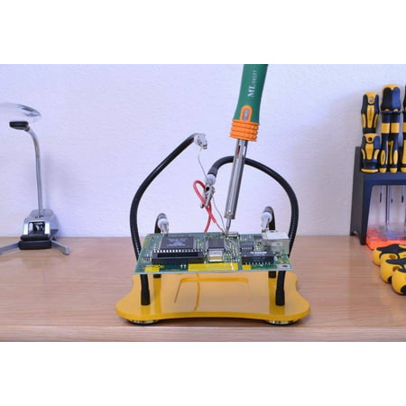 ML TOOLS Helping Hands Soldering Tool with Sturdy Steel Base VS339 MLTOOLS 100% customer satisfaction guaranteed!   The ML TOOLS 100% customer satisfaction guaranteed means: We will fix any problem quickly to make happy customers! If you are not satisfied, please simply return it for full refund or a replacement.