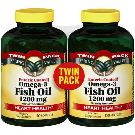Spring valley omega 3 fish oil dietary supplement 1000mg for Spring valley fish oil review