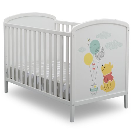 Winnie The Pooh Baby Cribs (Disney Winnie The Pooh 3-in-1 Convertible Crib by Delta)