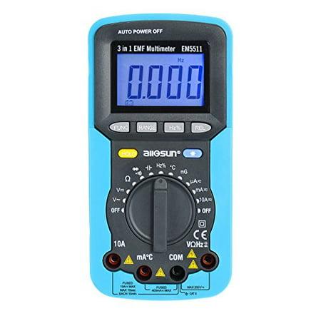 Digital EMF Multimeter EM5511 3 in 1 Electromagnetic Field Radiation