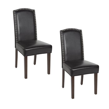 2-Set Better Homes & Gardens London Faux Leather Dining Chair
