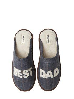 Dearfoams Men's Father's Day Novelty Scuff Slippers