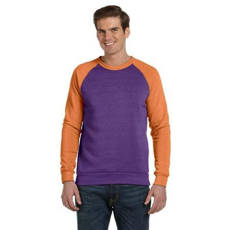 221bb143666b0 ALTERNATIVE - Alternative - Eco-Fleece Champ Colorblocked Crewneck  Sweatshirt - 32022 - Walmart.com