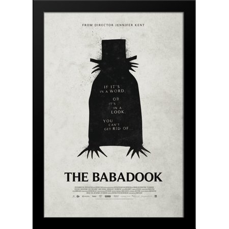 The Babadook 28X36 Large Black Wood Framed Movie Poster Art Print