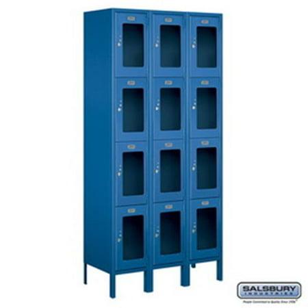 Salsbury Industries 3754P-BRZ Replacement Door & Tenant Lock 4C Horizontal Parcel Locker for Standard 4 High Unit - PL4 with 3 keys, Bronze