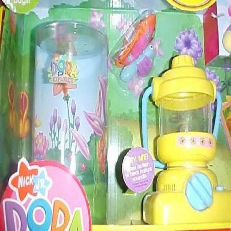 Fisher Price Dora the Explorer Flutterfly Discovery Set for Catching Bugs by